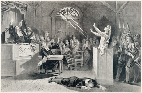 a history of witchcraft during the 17th century in new england Why salem made sense: culture, gender, and the puritan persecution of witchcraft.
